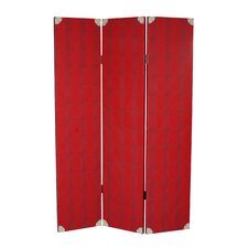 """71"""" x 47"""" Elric 3 Panel Room Divider"""