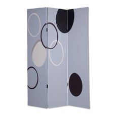 "73"" x 48"" Modalla Screen 3 Panel room Divider"