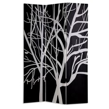 "73"" x 48"" Tranquillity Screen 3 Panel Room Divider"