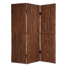 "74"" x 62"" Tahoe Screen 3 Panel Room Divider"