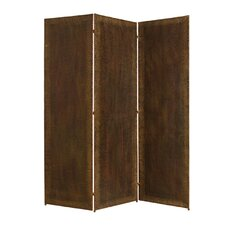 "<strong>Screen Gems</strong> 72"" x 72"" Forger 3 Panel Room Divider"