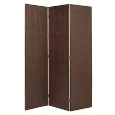 "74"" x 56"" Shoots Screen 3 Panel Room Divider"