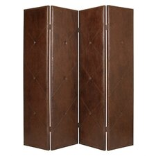 "86"" x 76"" Copley Screen 4 Panel Room Divider"