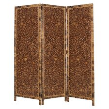 "73"" x 62"" Coco Screen 3 Panel Room Divider"