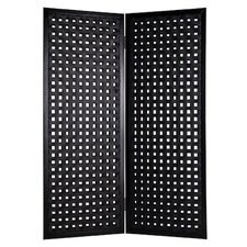 "78"" x 55"" Bellamy Screen 2 Panel Room Divider"