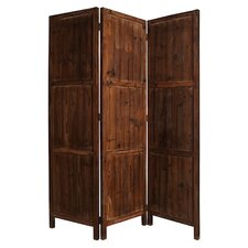 "73"" x 63"" Ponderosa Screen 3 Panel Room Divider"