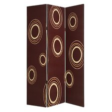"<strong>Screen Gems</strong> 73"" x 48"" Devon Screen 3 Panel Room Divider"