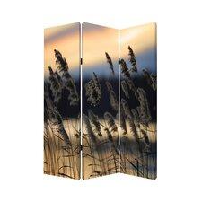 """71"""" x 47"""" Whisper Reed 3 Panel Room Divider"""