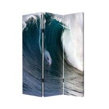 """71"""" x 47"""" Wave 3 Panel Room Divider"""