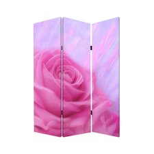 "<strong>Screen Gems</strong> 71"" x 47"" Flourish 3 Panel Room Divider"