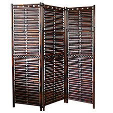"72"" x 60"" Makaha Screen 3 Panel Room Divider"