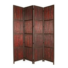 "96"" x 80"" Savannah 4 Panel Room Divider"