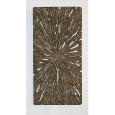 Rectangle Wall Décor - Aged Tree Cross-Section (Set of 2)