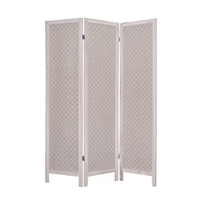 "<strong>Screen Gems</strong> 67"" x 52"" Moonbeam 3 Panel Room Divider"