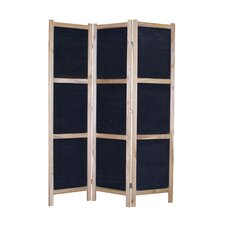 "<strong>Screen Gems</strong> 67"" x 52"" Tobin 3 Panel Room Divider"