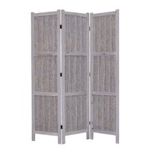 "<strong>Screen Gems</strong> 67"" x 52"" Terrance 3 Panel Room Divider"