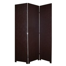 Copley Faux Leather Room Divider