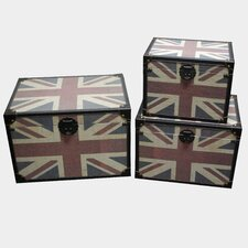 <strong>Screen Gems</strong> Britannia Trunk (Set of 3)