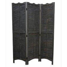 "<strong>Screen Gems</strong> 67"" x 52"" Madras 3 Panel Room Divider"