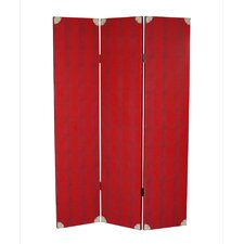 "<strong>Screen Gems</strong> 71"" x 47"" Elric 3 Panel Room Divider"