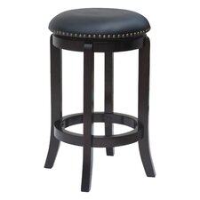 "24"" Swivel Bar Stool with Cushionwith Cushion"