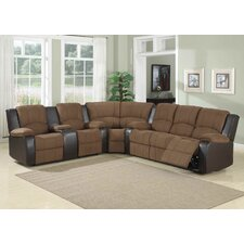 <strong>AC Pacific</strong> Peter Dual Reclining Sectional