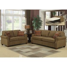 Alex Queen Sleeper Sofa and Loveseat Set