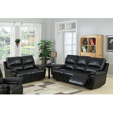 <strong>AC Pacific</strong> Javier Sofa and Loveseat Set