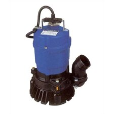 1/2 HP Semi-Vortex Submersible Trash Pump with Agitator and Float Switch