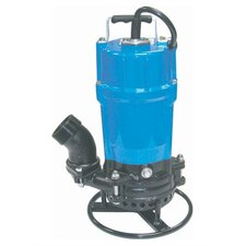 55 GPM Semi-Vortex Submersible Trash Pump with Agitator