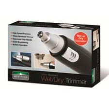 Wet and Dry Nose Ear Hair Trimmer