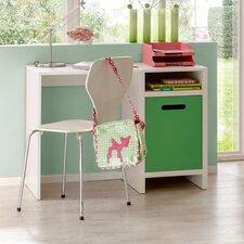 """Schreibtisch """"Clou"""" mit 1 Ablagefach und 1 Staufach"""
