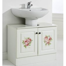 Lily Hand Painted Underbasin Unit