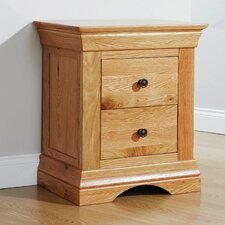 Sandringham 2 Drawer Bedside Table