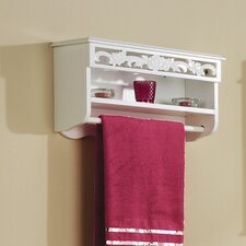 Lily Towel Rail with Shelf