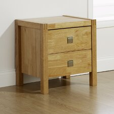 Vienna Valencia 2 Drawer Bedside Table