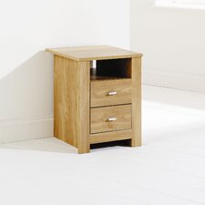 Forest 2 Drawer Bedside Table