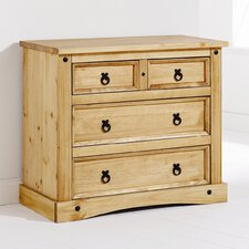 Monterrey 2 Over 2 Drawer Chest