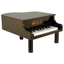 Mini Grand Piano in Black