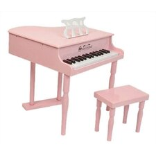 30 Key Classic Baby Grand Piano in Pink