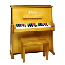 Day Care Durable Spinet Piano in Oak