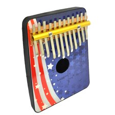 Flag 12 Note Thumb Piano