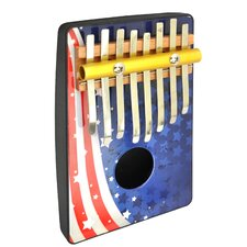 Flag 8 Note Thumb Piano