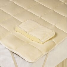 Down Wool Filled Mattress Pad