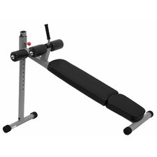 Commercial 12 Position Ergonomic Adjustable Decline Ab Bench