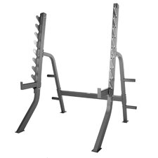 7400 Series Commercial Squat Rack with Plate
