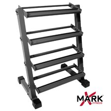 2' Four Tier Dumbbell Rack