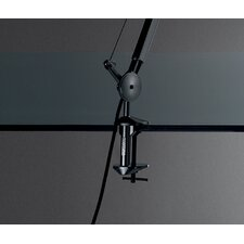 Table luminaire clamp