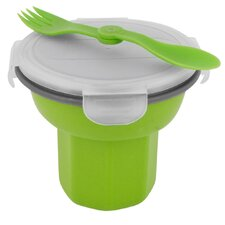 <strong>Smart Planet</strong> 24 oz. Eco Collapsible Travel Bowl