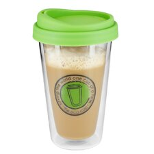 12 oz. Eco Glass Coffee Cup